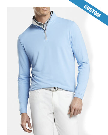 Peter Millar Perth Stretch Loop Terry Quarter-Zip