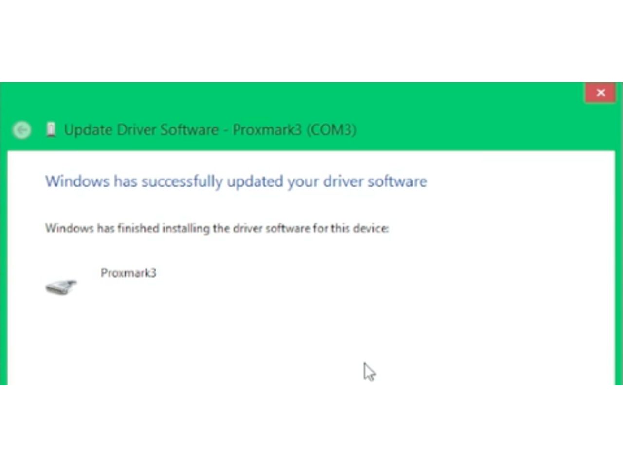 How to install a Proxmark3 Driver on Windows 8.1