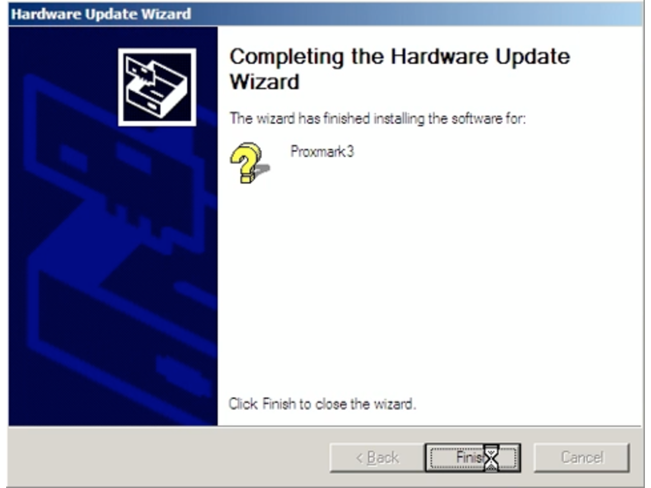 How to install a Proxmark3 Driver on Windows XP
