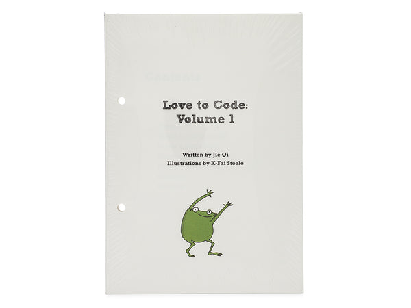 Love to Code Volume 1 Book Refill: Text Code Edition
