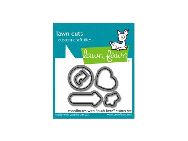 Lawn Fawn Push Here Die Cut