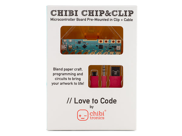 Love to Code Premounted Chibi Chip/Clip