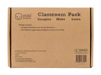 Circuit Stickers (White) Classroom Pack