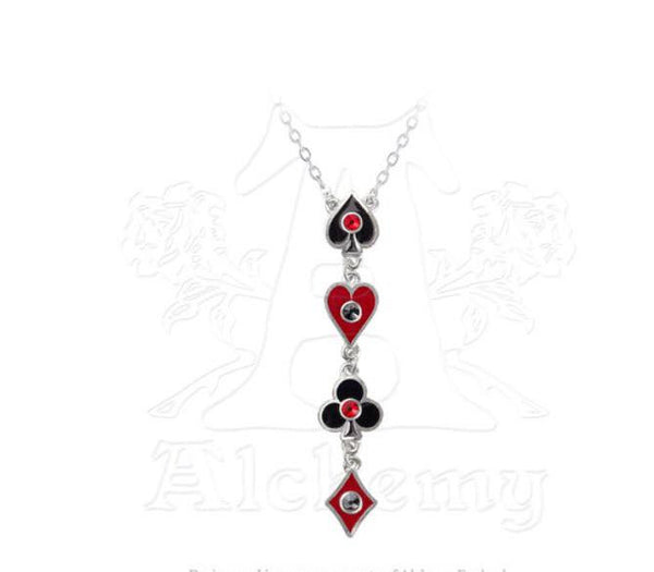 Aces Up Necklace - NaughtyGrl