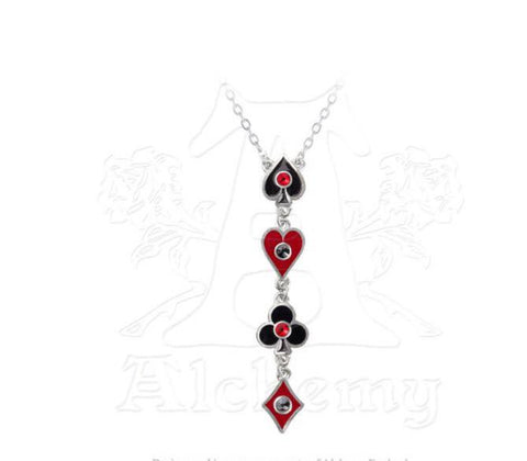 Designer inexpensive online boutique for women - Aces Up Necklace - NaughtyGrl