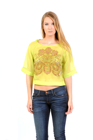 Designer inexpensive online boutique for women - Fairy Tale Organza Top - NaughtyGrl