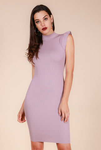 Halter Neck Dress with Chain Detail