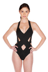 Sensual Cutout One Piece Swimsuit