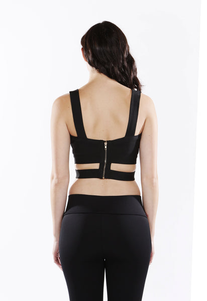 Modern Chic Cutout Top - NaughtyGrl
