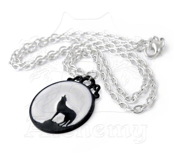 Caw at the Moon Pendant - NaughtyGrl