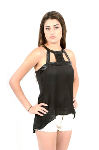 Designer inexpensive online boutique for women - After Party Cutaway Neckline Top - NaughtyGrl
