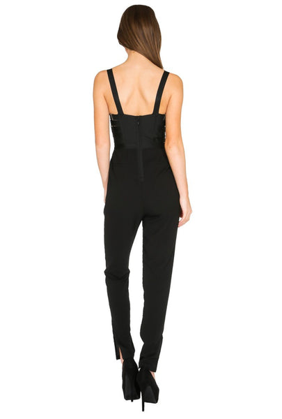 East To West Buckle Jumpsuit - NaughtyGrl