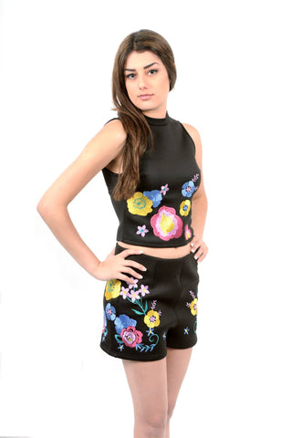 Designer inexpensive online boutique for women - Enchanting Embroidery Top