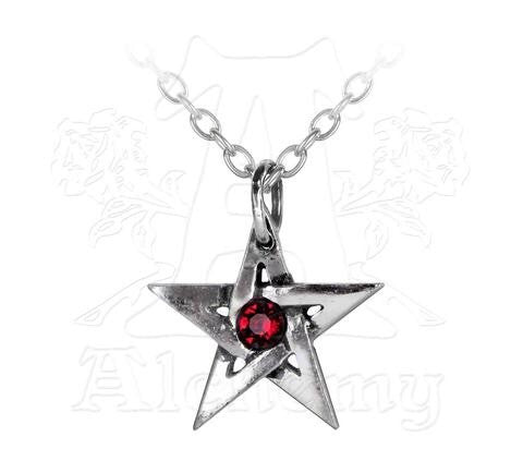 Designer inexpensive online boutique for women - Crystal Pentagram Pendant - NaughtyGrl