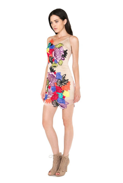 This Season Multi Color Dress - NaughtyGrl