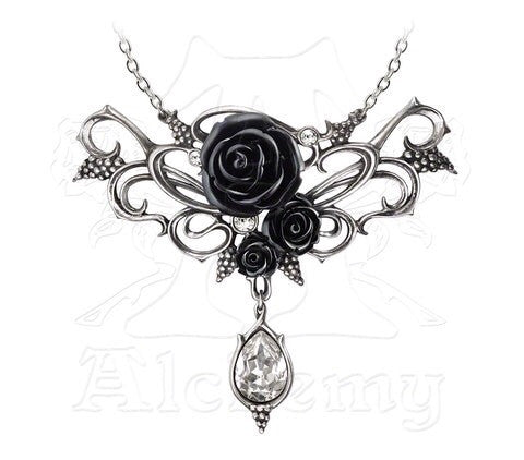 Designer inexpensive online boutique for women - Bacchanal Rose Necklace - NaughtyGrl
