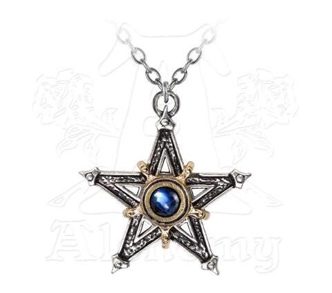 Designer inexpensive online boutique for women - Medieval Pentangle Pendant - NaughtyGrl