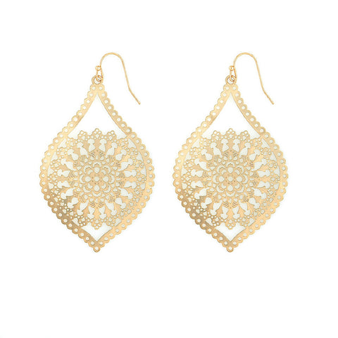 Designer inexpensive online boutique for women - Delicate Gold Dangles - NaughtyGrl