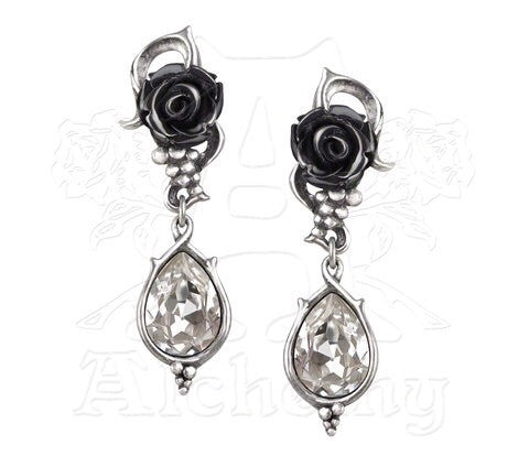Designer inexpensive online boutique for women - Bacchanal Rose Earrings - NaughtyGrl