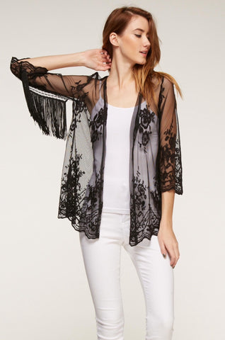 Designer inexpensive online boutique for women - Lovely Lace Outerwear - NaughtyGrl