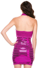 Catch The Spark Sequin Bottom Dress - NaughtyGrl