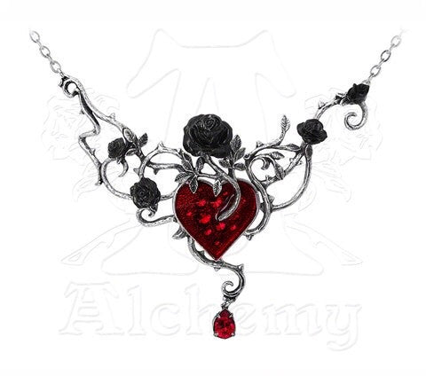 Designer inexpensive online boutique for women - Bed Of Blood-Roses Necklace - NaughtyGrl
