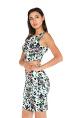 Naughty Grl Two Piece Skirt Set - Mint & Black Combo - NaughtyGrl