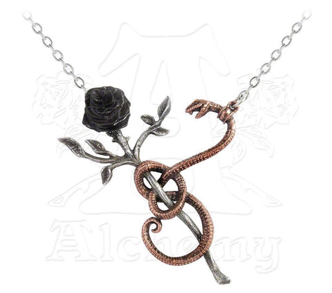 Designer inexpensive online boutique for women - A Rose for Eve Necklace - NaughtyGrl