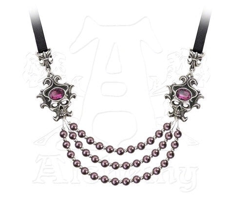 Designer inexpensive online boutique for women - The Palatine Pearls of the Underworld Necklace