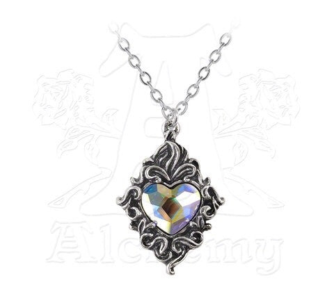 Designer inexpensive online boutique for women - Crystal Heart Pendant - NaughtyGrl