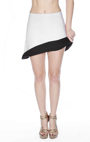 Super-Cute Navy Bandage Skirt