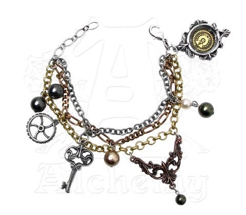 Designer inexpensive online boutique for women - Mrs Hudson's Cellar Keys Bracelet - NaughtyGrl