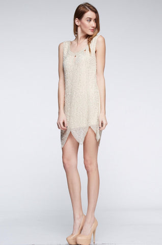 Honey Jacquard Dress