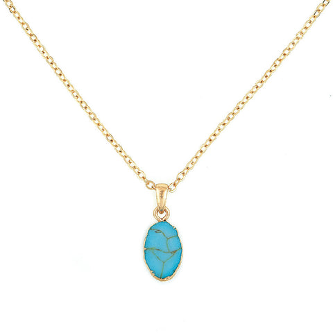 Designer inexpensive online boutique for women - Turquoise Pendant