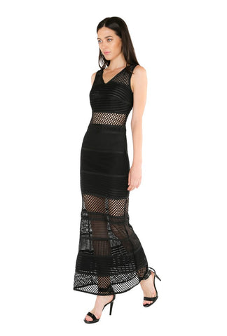 Designer inexpensive online boutique for women - Naughty Grl Sexy Lace Bandage Dress - Black