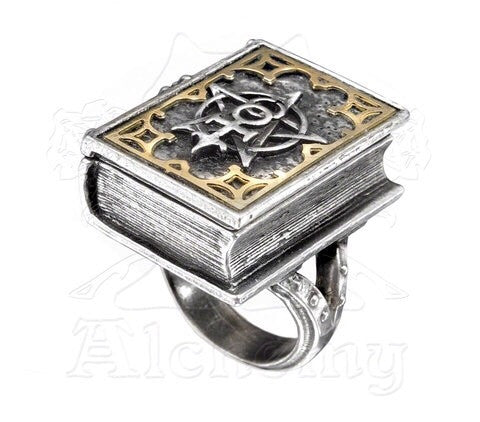 Dee's Book of Angel Magic Ring - NaughtyGrl