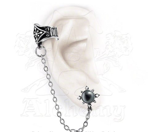 Designer inexpensive online boutique for women - Chaosium Ear Cuff - NaughtyGrl