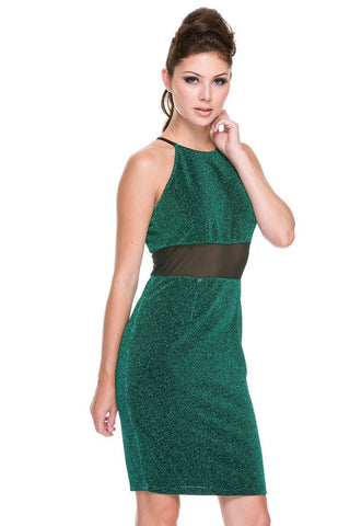 Designer inexpensive online boutique for women - Classy Yet Sexy Glitter Dress