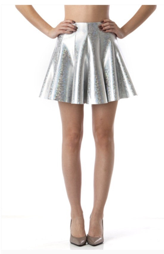Dance Floor Killer Hologram Skirt - NaughtyGrl