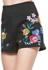 Enchanting Embroidery Short - NaughtyGrl