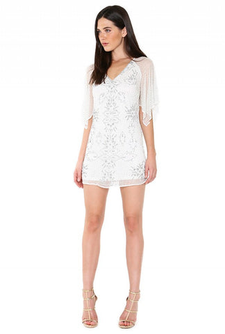 Designer inexpensive online boutique for women - Naughty Grl Short & Sweet Kimono Dress - Ivory
