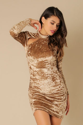 Dazzling Sequins Dress