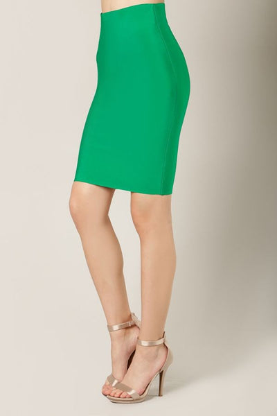 Kelly Green Skirt - NaughtyGrl