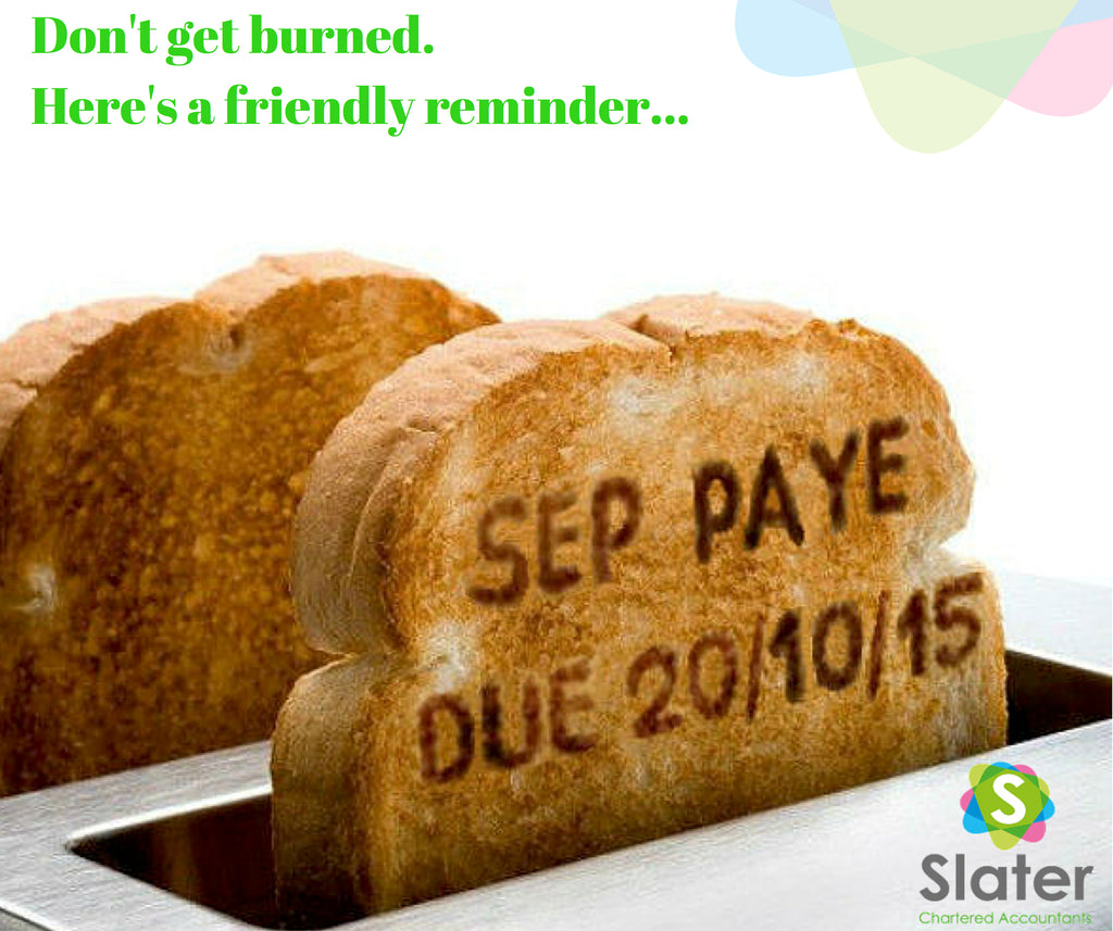 PAYE Reminder from Tax Accountant Slaters Hamilton NZ