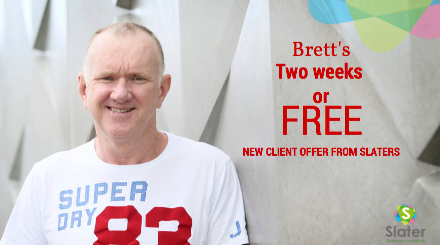 Two Weeks or Free From Slater Chartered Accountants