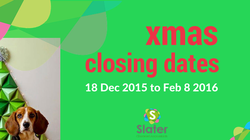 Slater Chartered closing dates