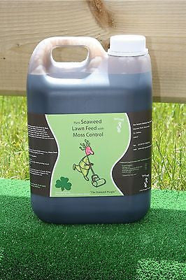 Seaweed Lawn Tonic Plant Fertilizer Organic Fertiliser Liquid Feed 2.5L