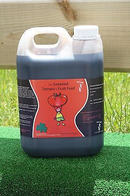 Seaweed Tomato & Fruit Plant Fertilizer Organic Fertiliser Liquid Feed 2.5L