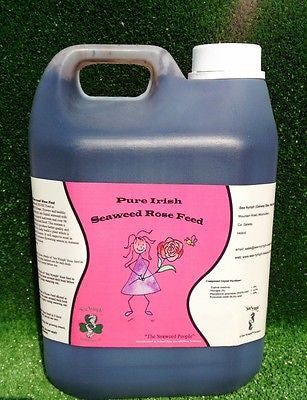 Seaweed Rose Feed Organic Fertiliser Liquid Feed 2.5L