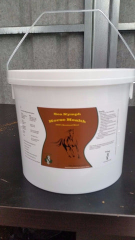 Sea Nymph Horse Health 100% Organic Seaweed Meal 4 Litre Bucket